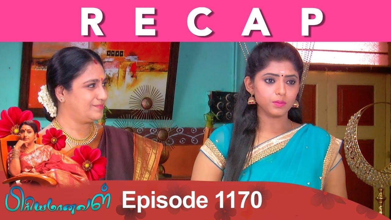 RECAP : Priyamanaval Episode 1170, 15/11/18