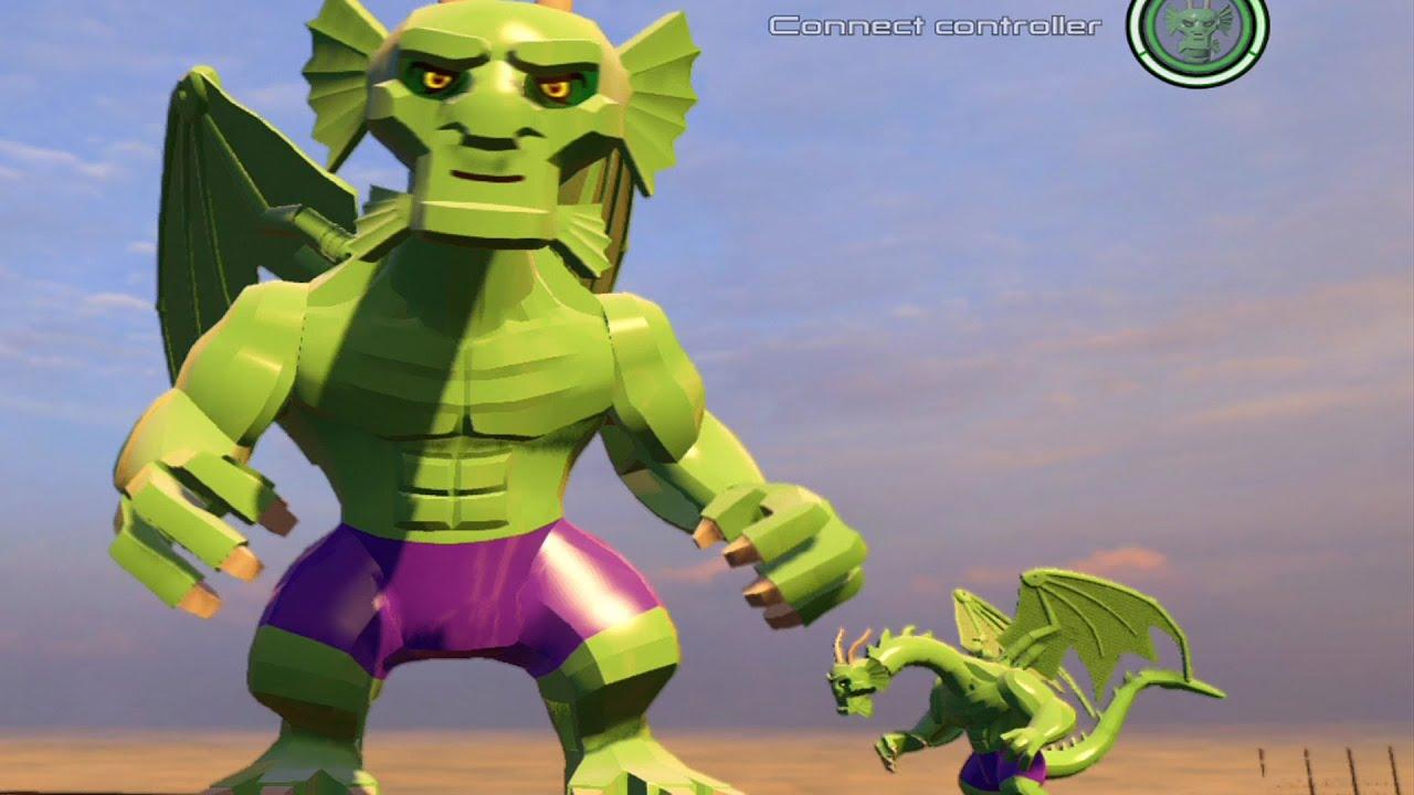 LEGO Marvels Avengers Fin Fang Foom Free Roam