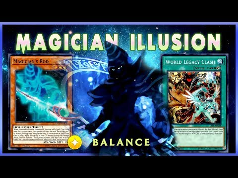 MAGICIAN OF DARK ILLUSION W/ WORLD LEGACY [ Yu-Gi-Oh! Duel Links ]