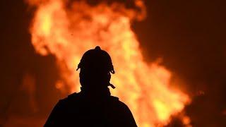 La noche que Achiras no durmió: el incendio tuvo en vilo al pueblo del sur de Córdoba