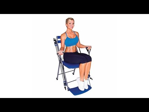 Chair Gym Exercise System with Twister Seat and Workout ...