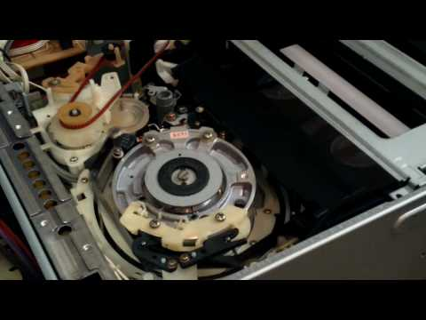 Unique Sideways Vhs Vcr Loading Mechanism Jvc Doovi