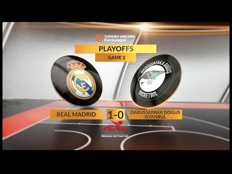 #GameON trailer: Real Madrid-Darussafaka Dogus Istanbul, Game 2