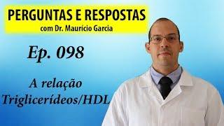A razão triglicerídeos/HDL - Perguntas e respostas com Dr Mauricio Garcia - ep 098