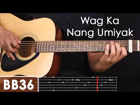 Wag Ka Nang Umiyak - Ralph Jay Triumfo Comp Guitar Tutorial Part 1 (intro)
