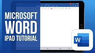 Microsoft Word for iPad Tutorial 2019