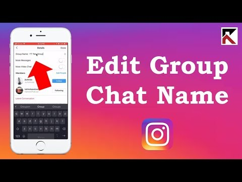 Download How To Name A Group Chat Instagram MP3, MKV, MP4
