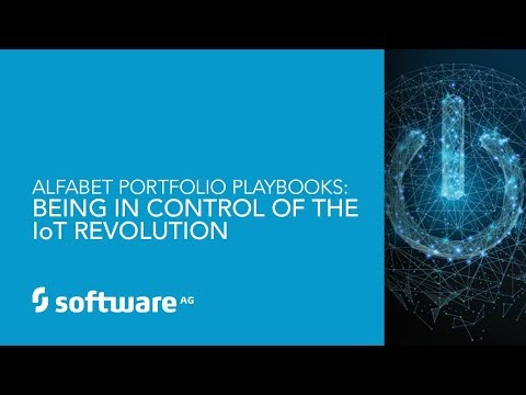 Alfabet Portfolio Playbook: Being in Control of the IoT Revolution