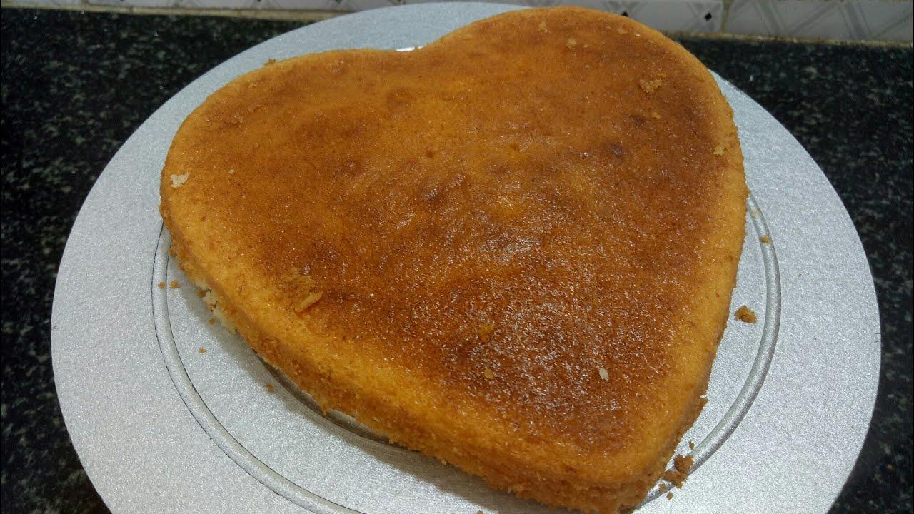 Recipe Of Cake In Kannada: Basic Spong Cake Recipe/egg Less Sponge Cake/