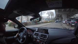 BMW M2 in der Stadt & Polizei Kontrolle (Ohne Video)