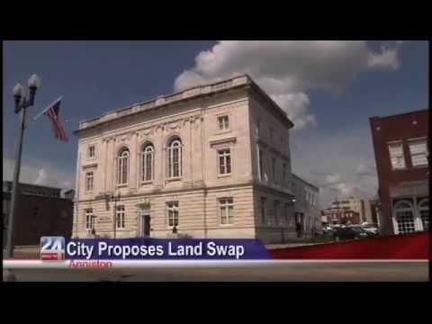 Anniston Proposes Land Swap