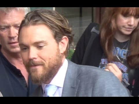Clayne CRAWFORD @ Paris 2 june 2017 for Lethal Weapon / L'arme Fatale / juin