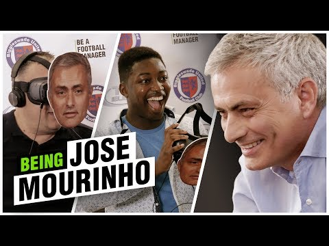 Mourinho's Press Conference | Top Eleven Virtual Reality Prank