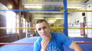 Wirral Boxer Matty Fagan Training At Arnie's Gym & Agrees Terms With Frank Warren