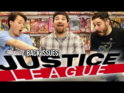 Justice League: Origin - Back Issues