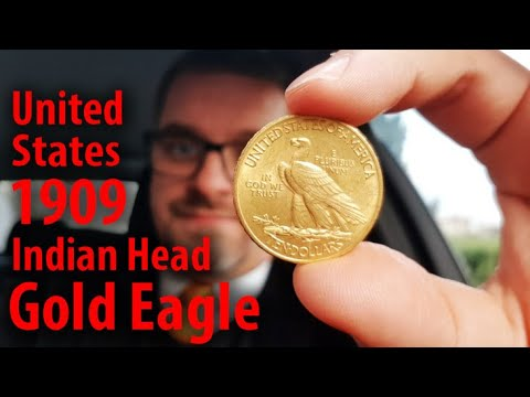 COIN │ United States Of America 10 Dollars 1909 / Indian Head Gold Eagle │ Info, Description, Values