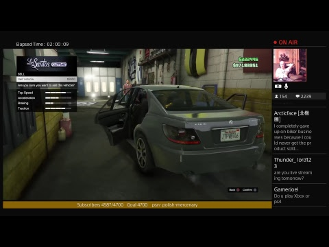 GTA  Late Stream 08/14/17 Helping Subs $200,000