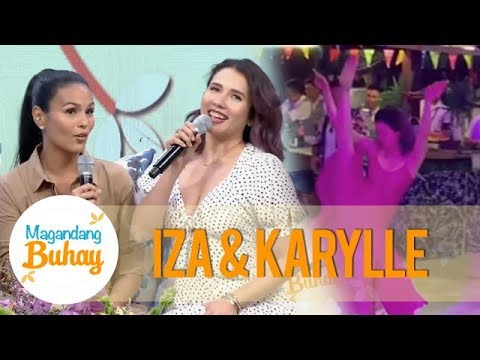 Magandang Buhay: Iza shares why Ben's father became Karylle's instant fan