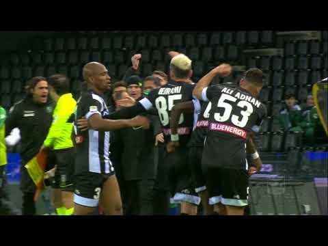 Il gol di Fofana - Udinese - Sassuolo 1-2 - Giornata 29 - Serie A TIM 2017/18