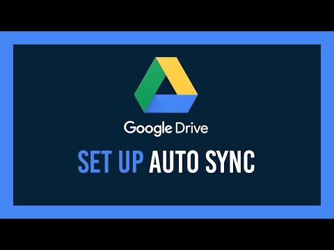 Set up Google Drive Auto Sync for Desktop