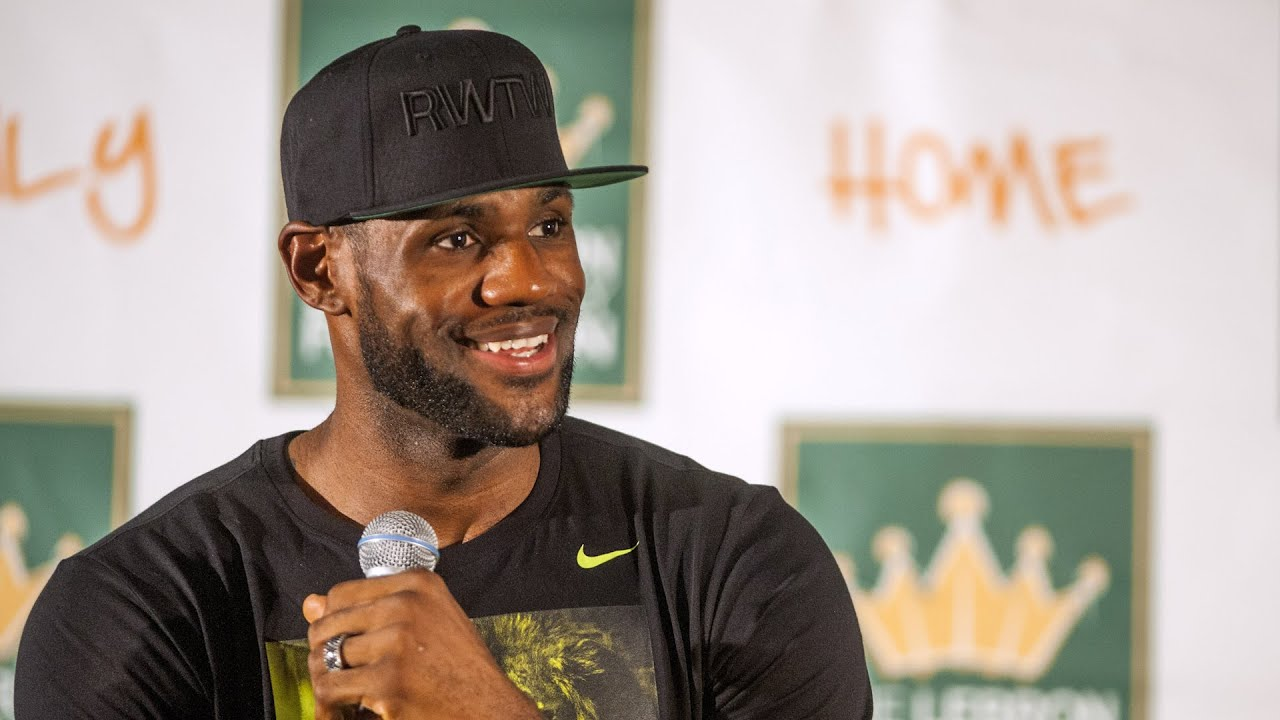 LeBron James | Paying for kids college education
