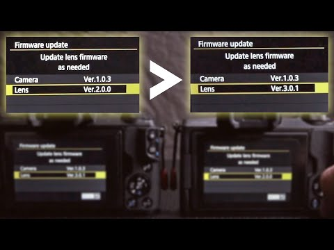 Noticed my Canon EF-M Lens needed a firmware Update... The process!