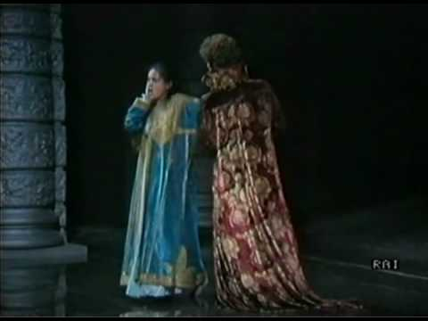 Cecilia Gasdia & Samuel Ramey in Maometto II (Pesaro 1985)