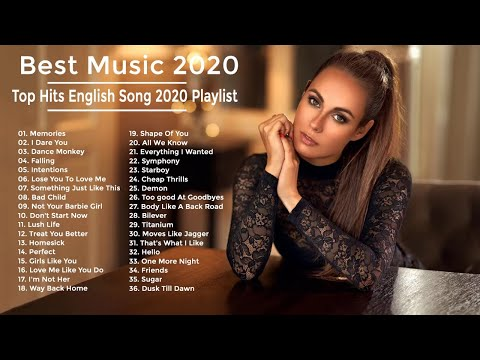 Best  2020  Pop Hits 2020 New Popular Songs  Best English Song 2020 Playlist