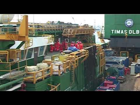 "Serial How To Make The Things: ""How to repair offshore platform"" Segment 3 of 4"