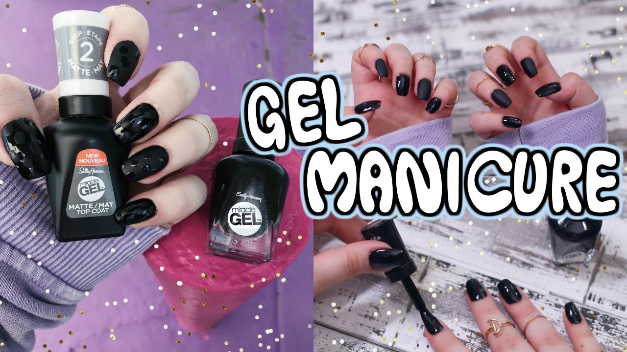 Get a Gel Polish Manicure at Home! Easy Nail Tutorial for Beginners!