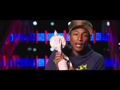 Pharrell Williams Wins International Male | BRIT Awards 2015