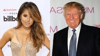 Becky G Fires Back at Donald Trump with