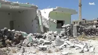 بالغارات والبراميل المتفجرة الأسد يعايد المناطق السورية