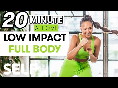 20-Minute Low Impact Full Body Strength Workout | Sweat With SELF
