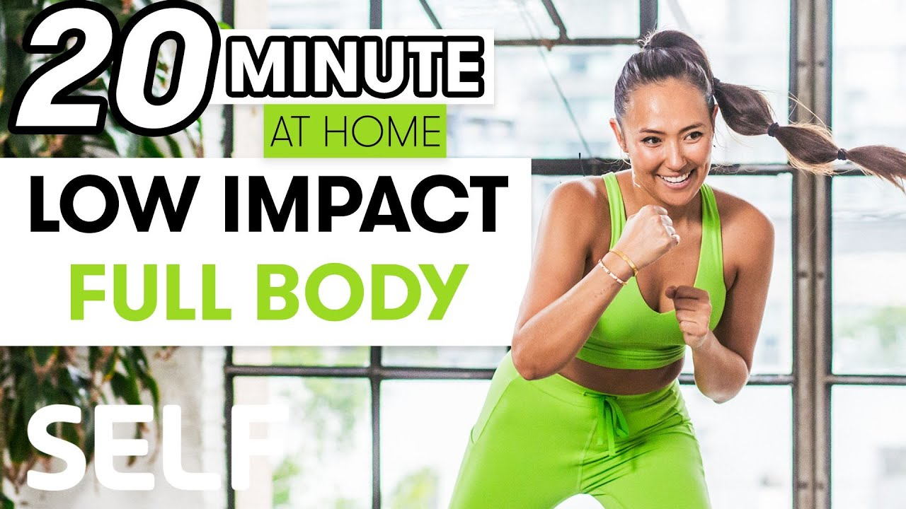 20-Minute Low-Impact Full-Body Strength Workout | Sweat With SELF