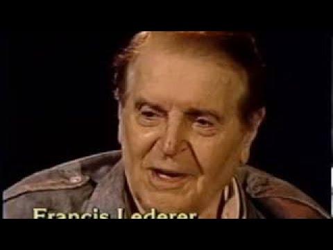 Francis Lederer Rare 1993 TV Interview