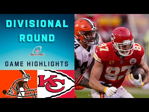 Browns vs. Chiefs Divisional Round Highlights | NFL 2020 Pla