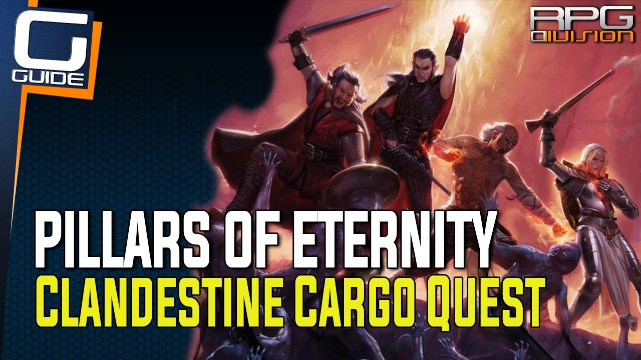 Pillars of Eternity - Clandestine Cargo Quest Guide