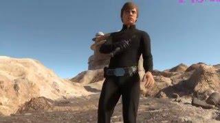 Star Wars Battlefront Luke Skywalker gameplay 01 HD