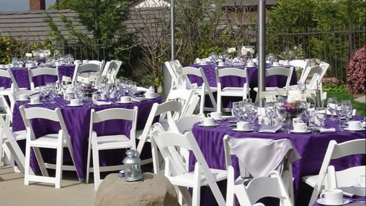 Modern Backyard Backyard Wedding Reception Ideas On A ...