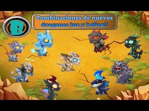 Como sacar a los nuevos dragones de Guerra y Luz - Dragon City