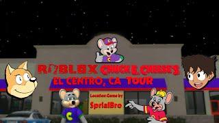 Roblox Chuck E. Cheese's El Centro, CA Tour