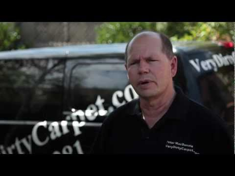 Carpet Cleaning Canberra  - VeryDirtyCarpet.com Interview with Peter MacDonald