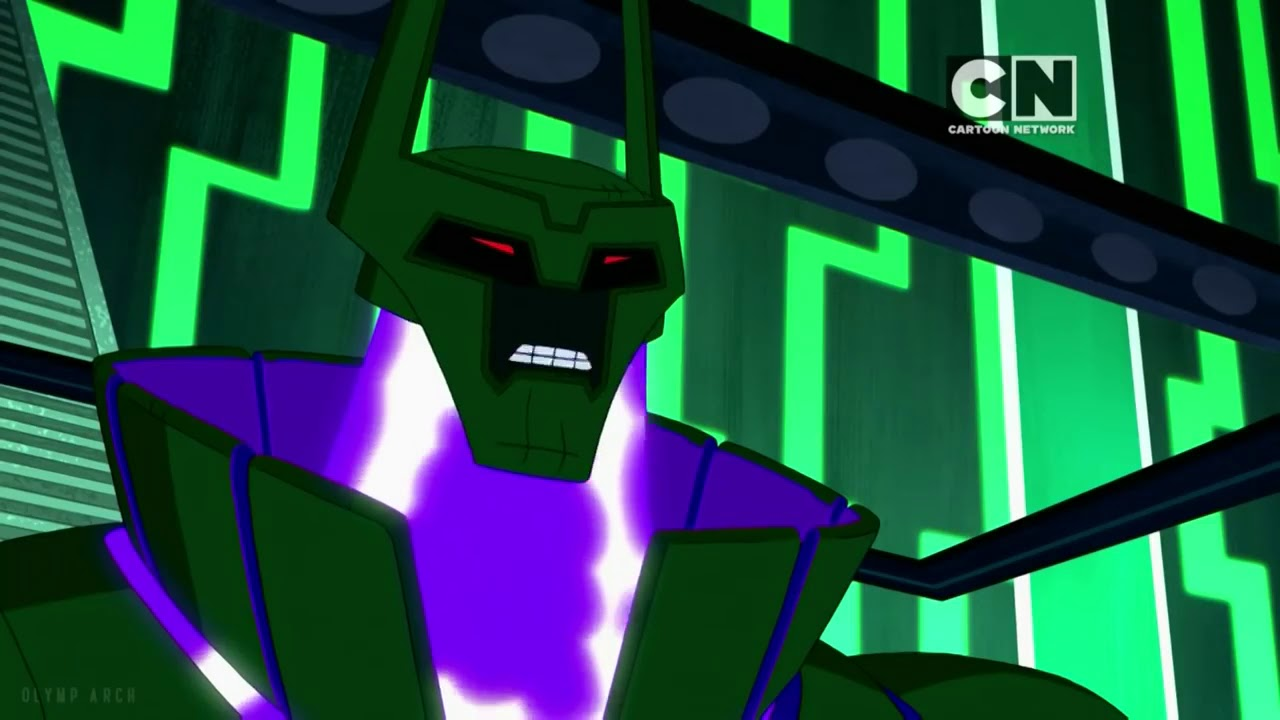 Ben 10 Innervasion - Team Tennyson Vs  High Override (HD)