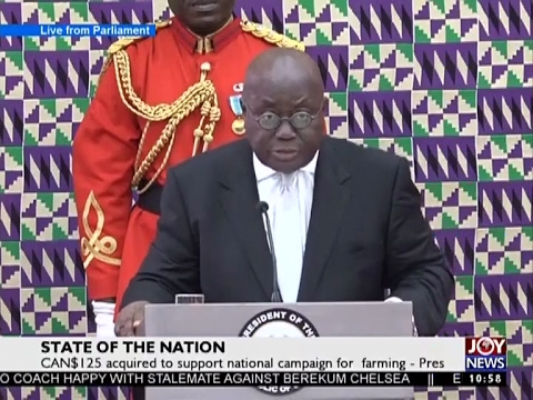 State of the Nation Address on Joy News (21-2-17)