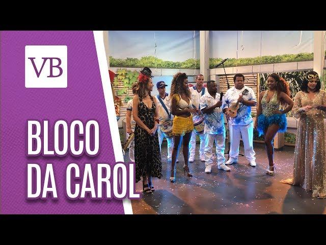 Bloco da Carol | Águias de Ouro ao vivo - Você Bonita (01/03/19)