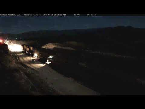 Meteor likely hits ground in Cajon Pass
