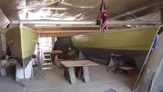 Building Wharram Tiki 38 Catamaran 'Gleda' Update 2nd May 2013