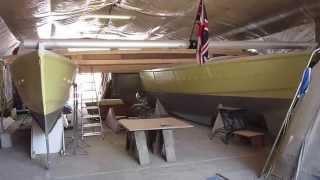 Building Wharram Tiki 38 Catamaran 'Gleda' Update 2nd May 2013