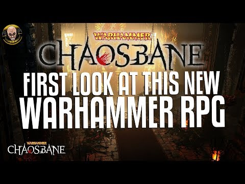 Warhammer: Chaosbane - New RPG! First look at gameplay!